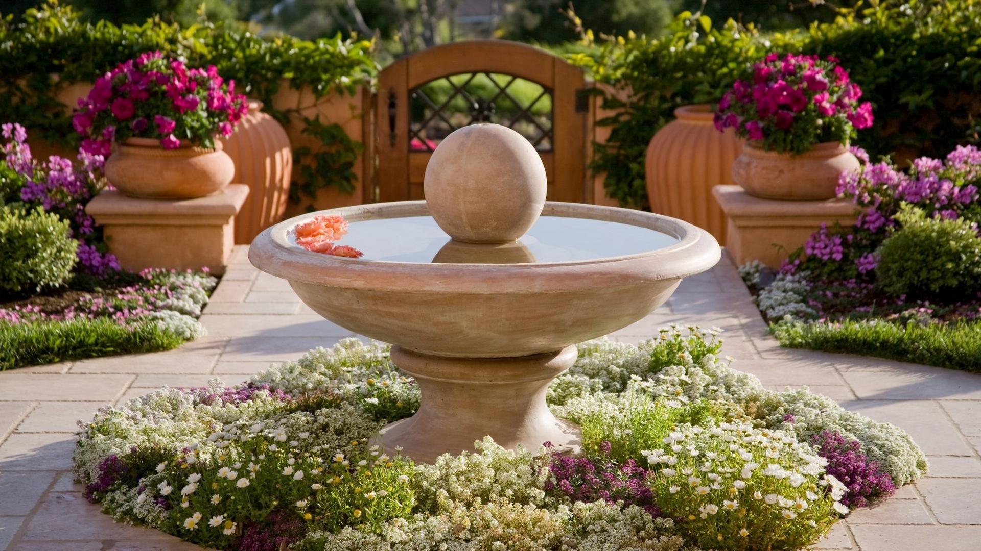 landscape_design_fountain_flowers_87148_1920x1080
